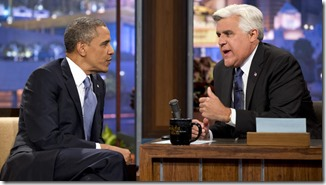 President Obama on Leno–Homosexuality
